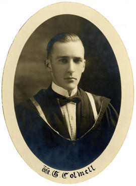 Portrait of William Gerald Colwell : Class of 1924