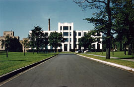 Photograph of the D Building