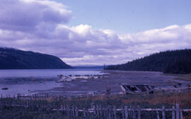 Photograph of the shore at Postville, Newfoundland and Labrador