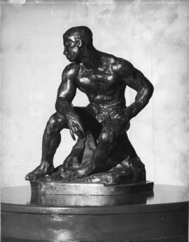 Photograph of The Athlete by Auguste Rodin