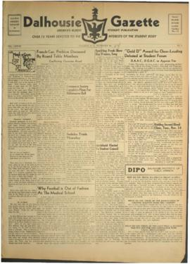 Dalhousie Gazette, Volume 77, Issue 6