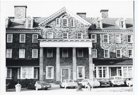 Photograph of Shirreff Hall's Main Entrance