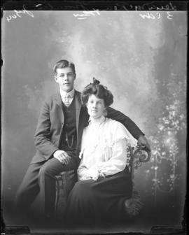 Photograph of Lena McRae and & her brother