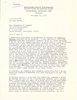 Correspondence with H. Gary Knight and supporting documentation and papers