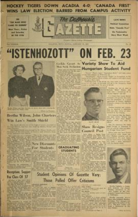 The Dalhousie Gazette, Volume 89, Issue 16