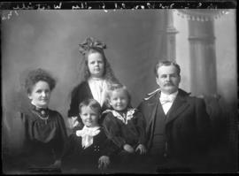 Photograph of Dr. J. C. McDonald & family