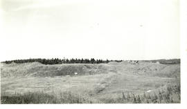 Photograph of the interior of Fort Beausejour