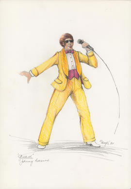 Costume design for Johnny Casino