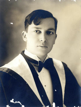 Portrait of Clarence Melville Bethune - Class of 1931