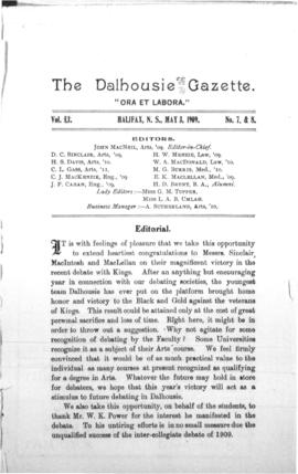 The Dalhousie Gazette, Volume 41, Issue 7-8
