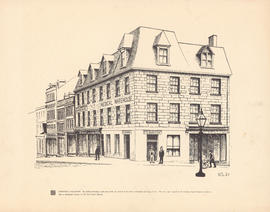 Sketch of Morton's Medical Warehouse