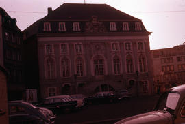 Photograph of the Old Town Hall (Rathaus) in Bonn
