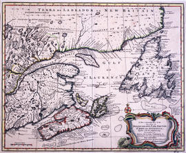 A new and accurate map of the islands of Newfoundland, Cape Breton, St. John, and Anticosta
