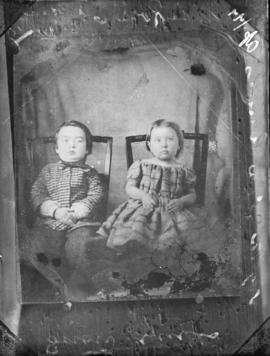 Photograph of two children