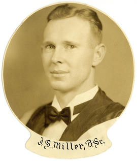 Portrait of John Stewart Miller : Class of 1939