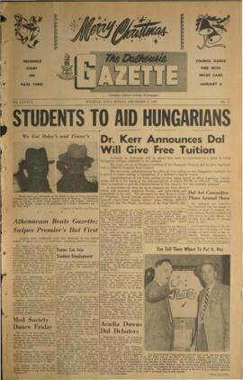 The Dalhousie Gazette, Volume 89, Issue 11