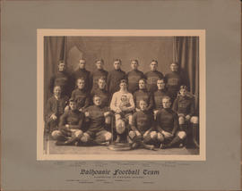 Photograph of Dalhousie Football Team - Champions of Eastern Canada