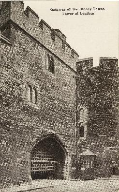 Postcard of the Tower of London