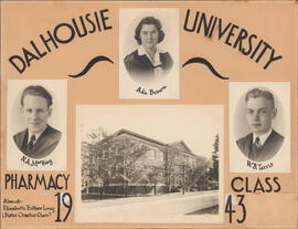 Collage of Dalhousie University Pharmacy class of 1943
