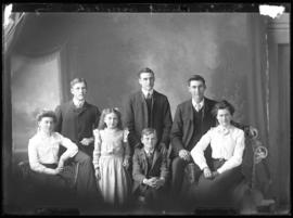 Photograph of Mr. Bruce and his family