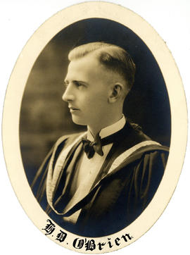 Portrait of Henry Dow O'Brien : Class of 1927