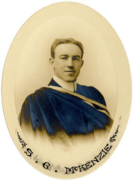 Portrait of Seymour Gourley McKenzie : Class of 1914