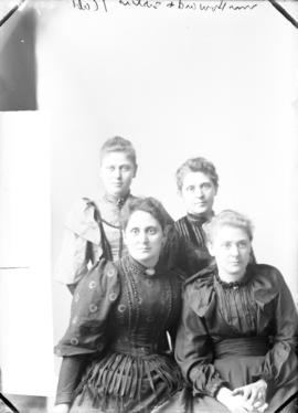 Photograph of Mrs. Howard and sisters