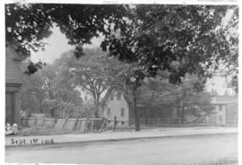 Photograph of a buildings on [Sackville?] street near [South Park?] in Halifax Nova Scotia
