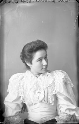 Photograph of Miss Henderson