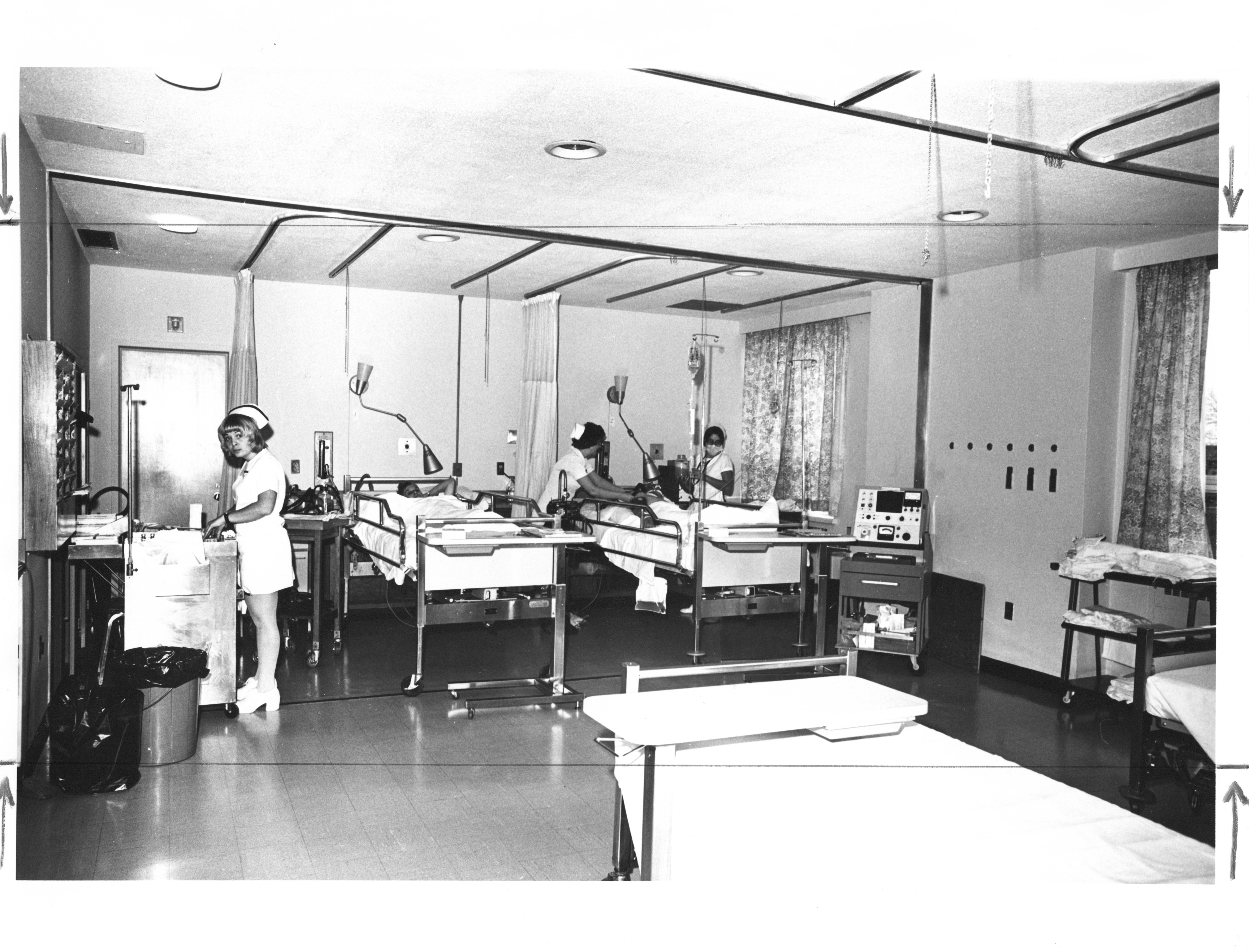 Photograph of Victoria General Hospital Department of Neurosurgery ...