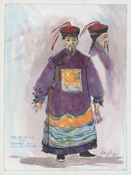 Costume design for Basho as Court Judge