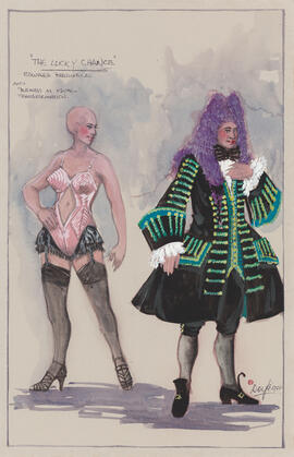 Costume design for Edward Bredwell