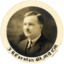 Portrait of James F. Corston