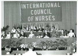 Photograph of Opening Session of the Council of National Representatives, International Council o...