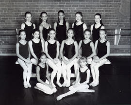 Photograph of dancers and performers in The Nutcracker