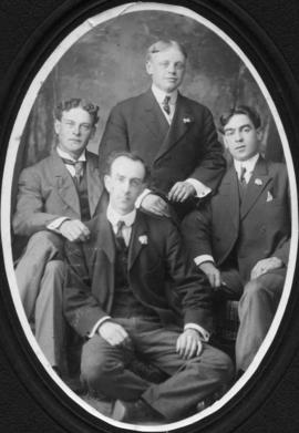 Photograph of a group of men
