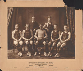 Photograph of Dalhousie Basket Ball Team