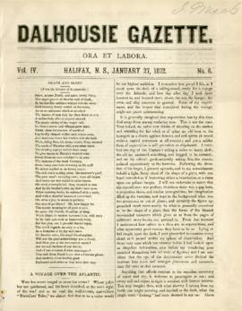 Dalhousie Gazette, Volume 4, Issue 6