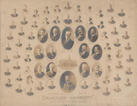 Composite photograph of Arts, Science and Engineering Class of 1912