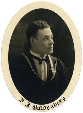 Portrait of Jacob Joseph Goldenberg : Class of 1926