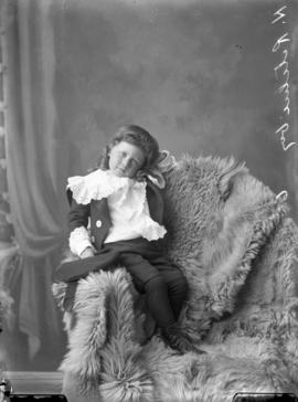 Photograph of H. Ritchie's son