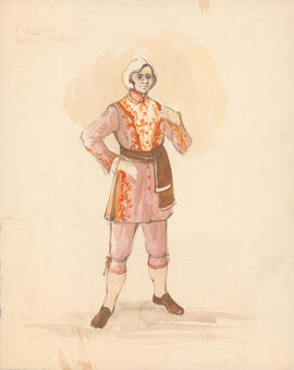 Costume design for Valentine
