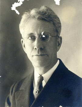 Portrait of Dr. R.E. Mathers