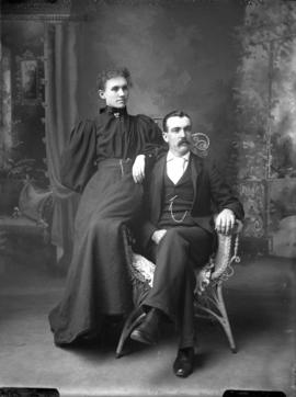 Photograph of Mr. and Mrs. Flemming