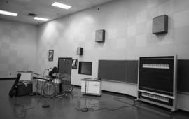 Photograph of a music room in the Dalhousie Arts Centre
