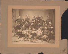 Photograph of Dalhousie Football Team - 1896