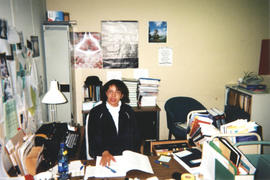 Photograph of Kellogg Library Administration Assistant Penny David