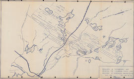 Boundary & topographic map showing the Lindwood farm land holdings at Sackville, Halifax Co., N.S.