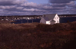 Photograph of the village of Westport, Brier Island, Nova Scotia