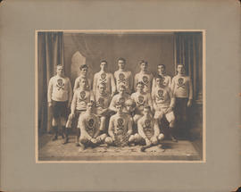 Photograph of Dalhousie Faculty of Medicine Football Team